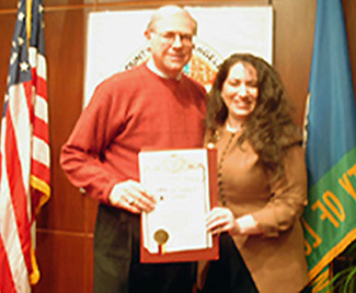 County of Los Angeles, Michael Antonovich Recognizes Annie Armen | CommunicationsArtist.com